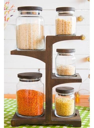 Joy Kitchen  Branch 5Li Kavanoz Seti Venge Renkli - 3K2B Renkli